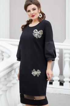 Платье 14343 черный Vittoria Queen