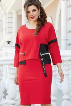 Платье 14373 красный Vittoria Queen
