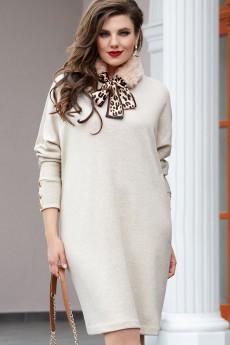 Платье 14803 беж Vittoria Queen