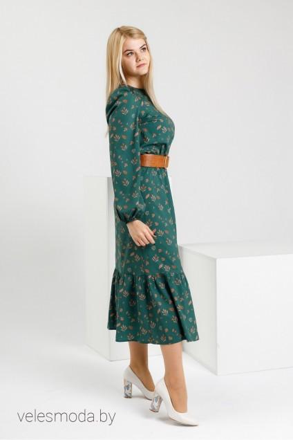 Платье 6142 зеленый YFS